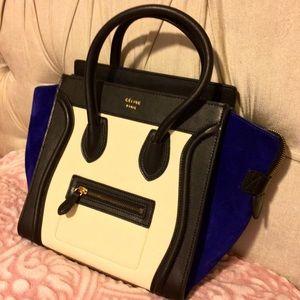 Celine Tricolor Luggage